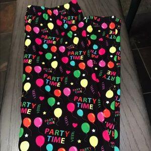 Pants - Party Time Leggings OS